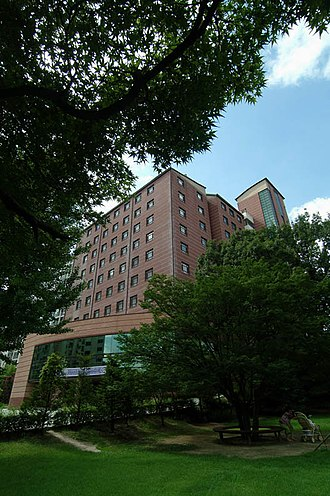 Seoul Women's University - The Bahrom buildings.