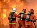 Sa obuke u Malezijskoj vatrogasnoj akademiji.JPG