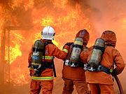 Lutte contre un incendie
