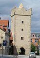 Saalfeld (Thüringen), stadtbefestigung, Darrtor.JPG