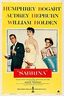 <i>Sabrina</i> (1954 film) 1954 film directed by Billy Wilder