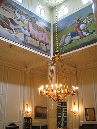Sa'dabad Complex - Depictions of Persian mythology in the White House.