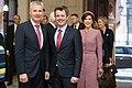 Saeimas priekšsēdētāja Ināra Mūrniece tiekas ar Dānijas kroņprinci un kroņprincesi (46202652551).jpg