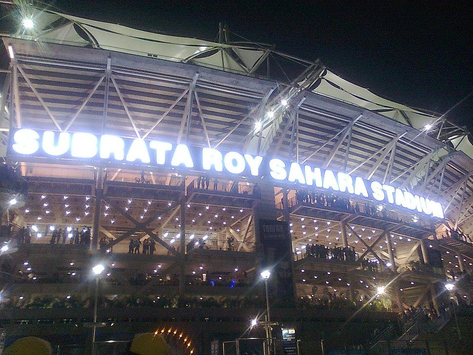 Sahara Stadium Pune Outside view