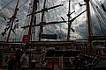 Sail Amsterdam - Javakade - View SSW on Thor Heyerdahl & Pelican of London.jpg
