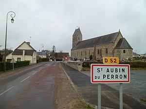 L'entrée du bourg.