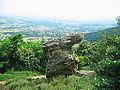 Saint-Clair (Ardèche) rocher du Tissou.jpg