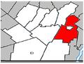 Saint-Cyprien-de-Napierville Quebec location diagram.PNG