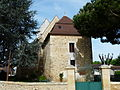 Saint-Sauveur (Dordogne) église chevet.JPG