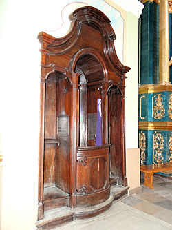 Saint Anne church in Lubartów - Interior - 28.jpg