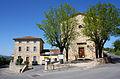 Saint Hilaire de Brethmas - La poste et le temple.jpg