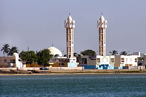 Islam in Senegal - A mosque in Ndar, Senegal.