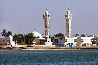 Islam in Senegal - A mosque in Ndar, Senegal.