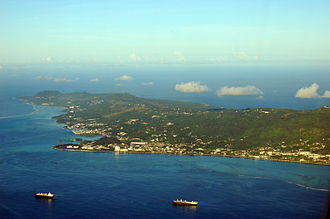 Northern Mariana Islands - The island of Saipan