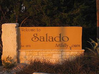 Salado, Texas town in Texas, United States