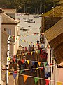 Salcombe, bunting in Union Street - geograph.org.uk - 1465513.jpg
