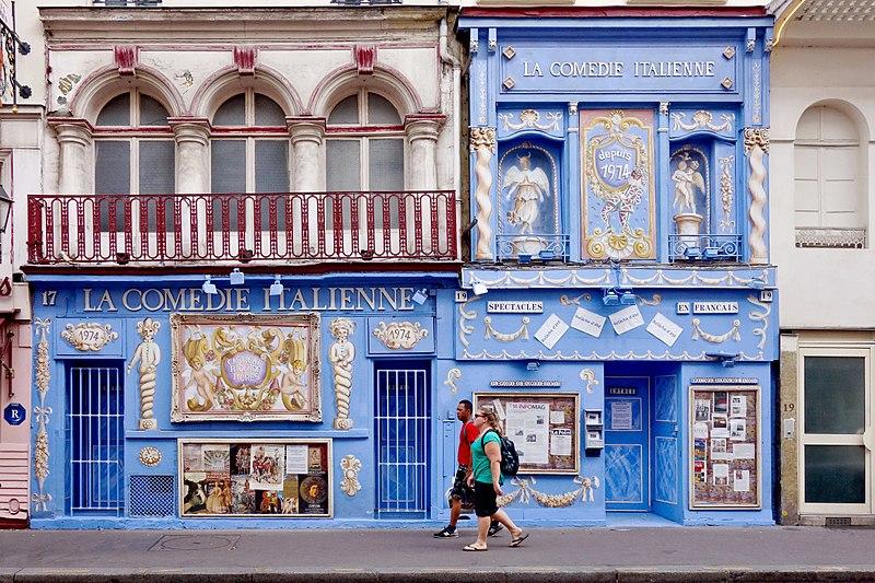 Teatros em Paris