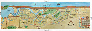 Blakeney, Norfolk - The inlet in 1649