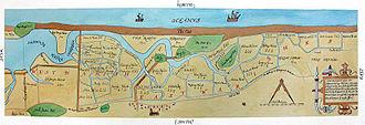 Salthouse - Map of Saltmarsh 1649