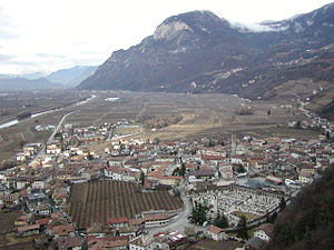 Panorama di Salorno