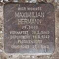 Salzburg - Schallmoos - Baron-Schwarz-Park - Stolperstein Maximilian Hermann (2).jpg
