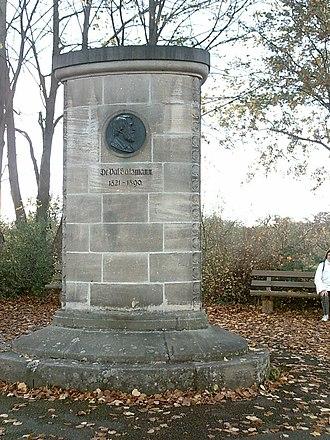 Schwäbischer Albverein - Valentin Salzmann memorial in Esslingen am Neckar