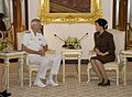 Samuel J. Locklear has an office call with Thai Prime Minister and Defence Minister Yingluck Shinawatra.., 12 June 2013 131206-A-WQ644-0002.jpg