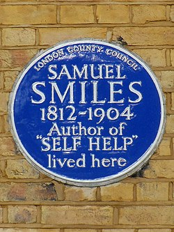 Samuel smiles 1812 1904 author of self help lived here