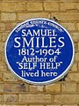 Samuel Smiles 1812-1904 Author of Self Help lived here.jpg