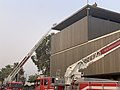 San Bernardino County Fire trucks at commercial fire and rescue.jpg