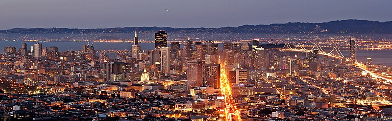 File:San Francisco (Evening).jpg