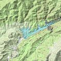 San Francisquito Reservoir on shaded topo v1.jpg