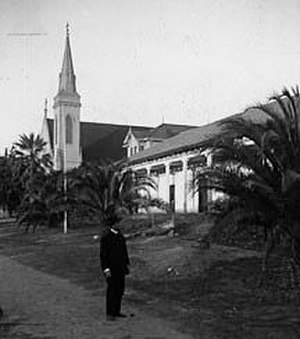Mission San José (California) - Mission San José circa 1910.