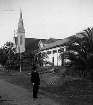 Mission San José (California) - Mission San José circa 1910.