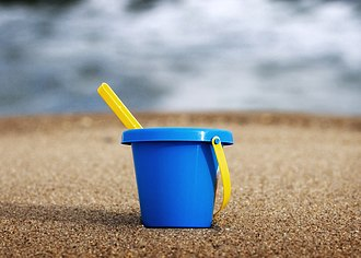 Society of Blue Buckets - Child's blue bucket