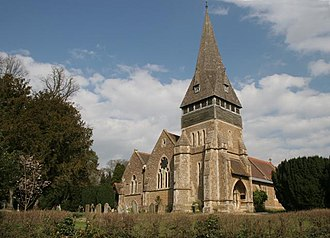 Sandhurst, Berkshire - The Church of St Michael and All Angels