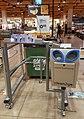Sanitizing in Dutch supermarket during COVID-19 pandemic.jpg