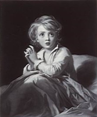 Samuel Cousins - Speak Lord For Thy Servant Hears (after James Sant), 1854