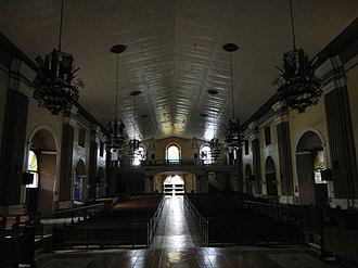 Santa Barbara, Pangasinan - Image: Santa Barbara Pangasinanchurchjf 3
