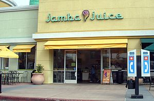 Jamba Juice - A Jamba Juice store in Santa Clara, California