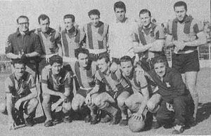 Club Atlético San Telmo - The 1961 squad achieved the third championship.