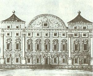 Pietro Perti - Sapieha Palace as designed by Perti