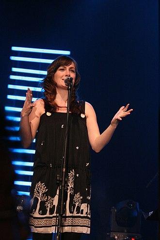 Sara Gazarek - Sara Gazarek at the 2008 Java Jazz Festival