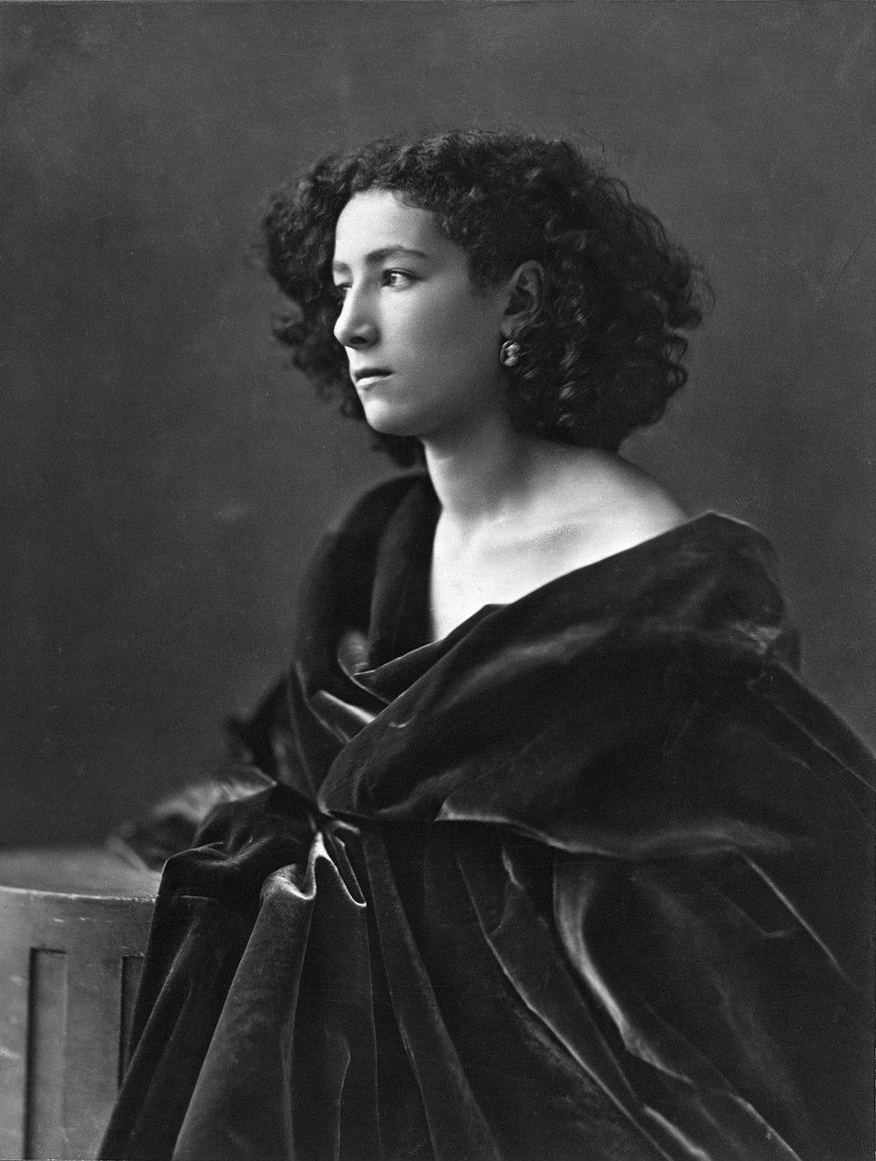 Sarah Bernhardt, par Nadar, 1864