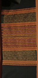 Sarong (woman's hip wrapper) from Timon, Indonesia, Biboki, Honolulu Museum of Art, 10036.1.JPG