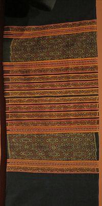 Sarong (woman's hip wrapper) from Timon, Indonesia, Biboki, Honolulu Museum of Art, 10036.1.JPG
