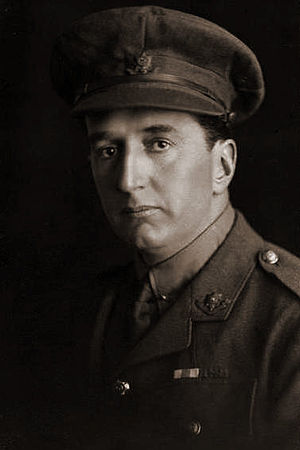 Stanley Bruce - Captain Bruce of the Royal Fusiliers during World War I