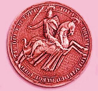 John II of Viennois - Image: Sceau Jean II de Viennois