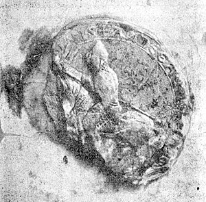 Fulk III, Count of Anjou - Seal of Fulk III
