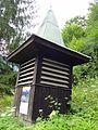 Schönau am Königssee — Ortsteil Königssee — Kleines Holztürmchen mit unbekannter Funktion.JPG
